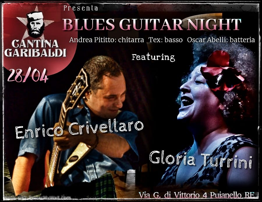 blues guitar night